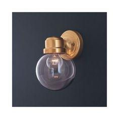 Amazon.com: Thomas Lighting SL9256-12 One Light Wall Mount, Antique Brass Finish with White Glass: Home Improvement