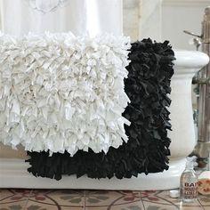 Recycled Jersey Bath Mat from West Elm. Shop more products from West Elm on Wanelo. West Elm, Bathroom Rugs, Bath Rugs, Bathrooms Decor, Bath Decor, Diy Bath Mats, Rag Rug Tutorial, Diy Projects For Bedroom, Diy Bedroom