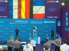 Maximilian Guenther (BMW i Andretti Motorsport) remporte sa 2ème victoire de la saison lors de l'e-Prix de Berlin III 2020, huitième manche du championnat FIA de […] Porsche, Berlin, Abs, Formula E, Sleeve, Abdominal Muscles, Porch, Ab Workouts, Ab Exercises