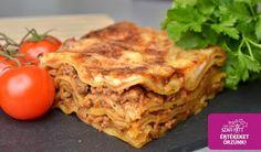 Extra diétás gluténmentes lasagne házi tésztával (szénhidrát csökkentett, paleo) ~ Éhezésmentes Karcsúság Szafival
