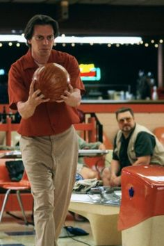 """In """"The Big Lebowski"""" Donny (Steve Buscemi) dies right after missing a bowling strike. This is the only strike he misses throughout the entire film. Moonlight Rollerway, Dudeism, Ghost World, Coen Brothers, Steve Buscemi, Man Parts, The Big Lebowski, Perfect Game, Cult Movies"""