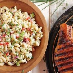 Macaroni Salad #recipe from Williams-Sonoma -- perfect for 4th of July BBQ.
