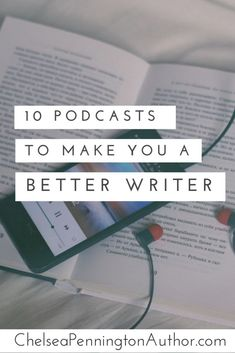 10 podcasts to make you a better writer – Penn & Paper Creative Writing Tips, Book Writing Tips, Writing Process, Writing Resources, Writing Help, Writing Skills, Better Writing, Writing Images, Improve Writing
