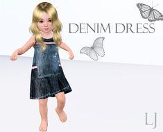 LJgaming's Denim Dress