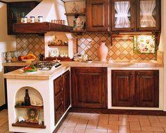 96 immagini fantastiche di Cucina in muratura | Kitchens, Rustic ...