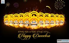 """A time for celebration, A time for victory of good over bad, A time when world see the example of power of good. Let us continue the same """"true"""" spirit. Blessing of Dussehra."""