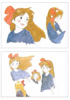 From the artbook The Art of Kiki's Delivery Service, Studio Ghibli (1989), written and directed by Hayao Miyazaki.
