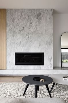🔥 84 design living room with a fireplace that is right for your home design inspiration 46 Home Fireplace, Modern Fireplace, Fireplace Stone, Fireplaces, Fireplace Surrounds, Living Room Designs, Living Room Decor, Contemporary Fireplace Designs, Living Room Inspiration