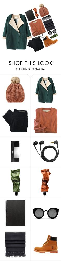"""""""Bridget"""" by darling-dreamers ❤ liked on Polyvore featuring White Stuff, Chicnova Fashion, Nobody Denim, Sephora Collection, Sennheiser, Aesop, Muji, Acne Studios and Timberland"""