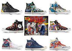 DC COMICS × CONVERSE CHUCK TAYLOR ALL STAR #sneaker
