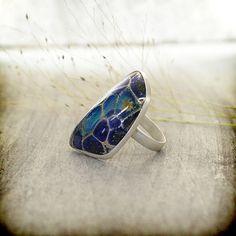 gorgeous lampwork ring