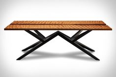 The Kahiko Table - The most expensive table in the world. Made from 50,000 year old Ancient Kauri wood.