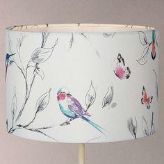 BuyJohn Lewis Hummingbird Lampshade, Multi, Dia. 20cm Online at johnlewis.com