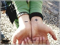 Awesome Tattoo Ideas — Bipolar Wrist Tattoos @Pairodicetattoos.com