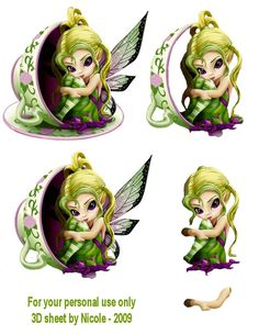 Angels and Fairies decoupage