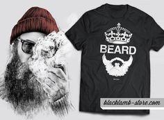 Black lamb t-shirt - Beard http://blacklamb-store.com/beard.html