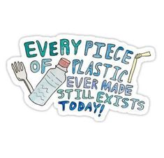 Can you believe that every piece of plastic ever made still exists - unless its been burnt! It really makes your zero waste - plastic free journey worth it! Save Planet Earth, Save Our Earth, Love The Earth, Our Planet, Save The Planet, Ocean Pollution, Plastic Pollution, Info Board, Photo Deco