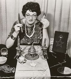 """Doreen Valiente, 1962    """"Doreen Edith Dominy Valiente (4 January, 1922, Mitcham, South London, England – 1 September 1999, Brighton, England), who used the craft name Ameth, was a highly influential figure in the neopagan religion of Wicca, being a High Priestess ofGardnerian Wicca and an initiate of both Cochrane's Craft and the Coven of Atho. She was initiated into the craft by Gerald Gardner, and was his High Priestess in the early Bricket Wood coven."""""""