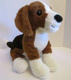 """Ikea BEAGLE Gosig Valp Dog 13"""" Soft Plush Stitched Eyes Stuffed Animal Puppy #2 #IKEA"""