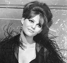 Claudia Cardinale in Fellini's 8 1/2 (1963)