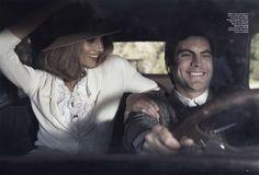 Harper's Bazaar - Bonnie and Clyde
