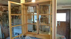 Lärchen Kastenfenster