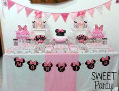 Minnie Shabby Chic | CatchMyParty.com