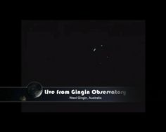 Asteroid 2012 DA14 is seen by Gingin Observatory, West Gingin, Australia, as the space rock made its closest approach to Earth on Feb. 15, 2013. The asteroid appears a streak because of its high speed.