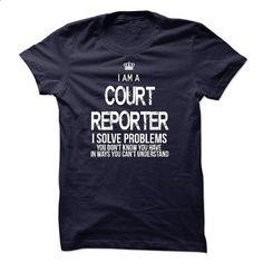 I Am A Court Reporter - #sweatshirt dress #sweater nails. I WANT THIS => https://www.sunfrog.com/LifeStyle/I-Am-A-Court-Reporter-44509872-Guys.html?68278