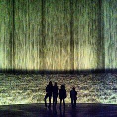 Water Wall via Tips on the road