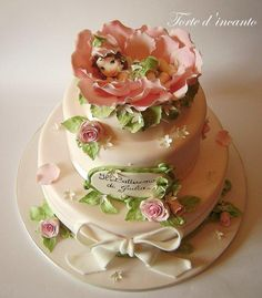 Bébé rose - Cake de Torte d'Incanto - CakesDecor