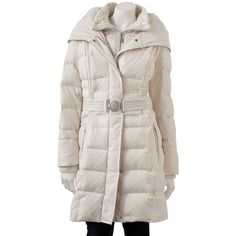 Hopefully I can find this coat this year - Apt. 9® Hooded Long Down Puffer Jacket