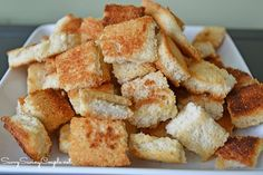 Homemade Croutons-Super Easy Recipe
