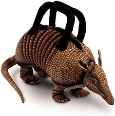 Armadillo purse. Weird, weird, weird!....
