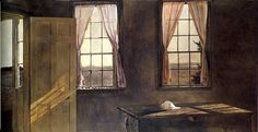 Andrew Wyeth 'Her Room'