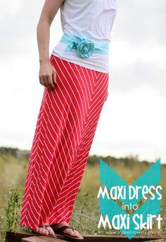 DIY skirt : DIY Maxi Skirt