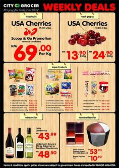 12-18 Aug 2016: City Grocer Supermarket Weekly Deals