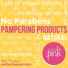 All you need to know about Perfectly Posh!  www.perfectlyposh.us/dar