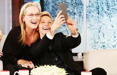 Selfie with Ellen no hay nadie más bella que Ella