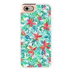 iPhone 6 Plus/6/5/5s/5c Metaluxe Case - Paradise Floral ($50) ❤ liked on Polyvore featuring accessories, tech accessories, phone cases, iphone case, iphone cover case, apple iphone cases and floral iphone case