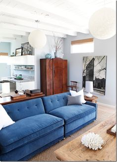 well hello there, blue couch thinking about getting a blue couch