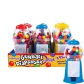 Small Gumball Dispensers 12ct- Candy Gum- Party Favors