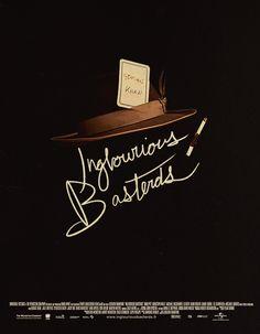 Quentin Tarantino Inglourious Basterds poster quentin tarantino, movi poster, thing tarantino, cult film