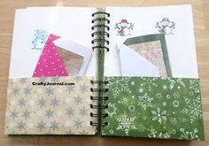 8 Pocket Folder from One Sheet of Paper Diy And Crafts, Paper Crafts, Paper Art, Wreck This Journal, Junk Journal, Folder Diy, Pocket Page Scrapbooking, Paper Pocket, Collage