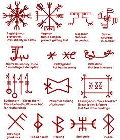 Ancient Secret Symbols | Runes, Rune words, A long lost puzzle?, page 1