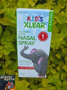 All-Natural Saline Nasal Spray for Babies and Kids - Great for sickness and allergies!