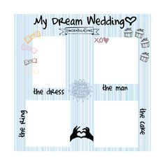 Wedding Survey! use; by [♥əʆɐʞ] ❤ liked on Polyvore featuring surveys, backgrounds, templates, other, random and filler