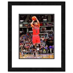 Derrick Rose Framed Player Photo, Multicolor