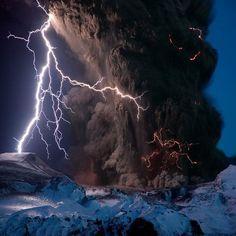 Amazing , Fjallajokull Volcano, Iceland
