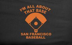 Black Meghan Trainor It's all about the bass baseball SF San Francisco Giants World Series Tee T-Shirt